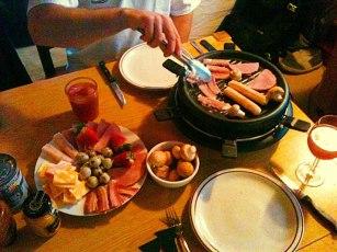 Winter raclette