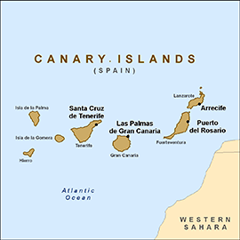 map-canary-islands